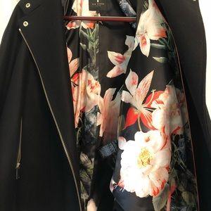 Ted Baker London Jackets & Coats - Ted Baker London Wool Swing Coat